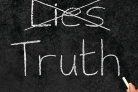 Truth instead of lies. Creative Commons